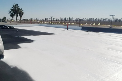 Acrylic Elastomeric Coating in Central California | Durable Cool Roofs, Inc.